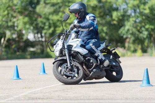 Motorrijbewijspoint Zoetermeer motor rijtest